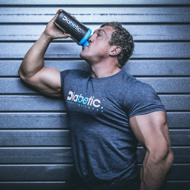 Phil Graham Diabetic Muscle and Fitness Shaker
