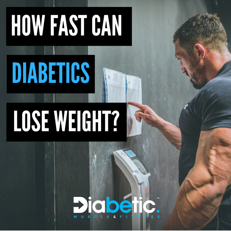 How to lose weight fast diabetes
