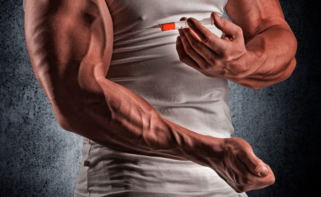 Effects of injecting insulin into muscle