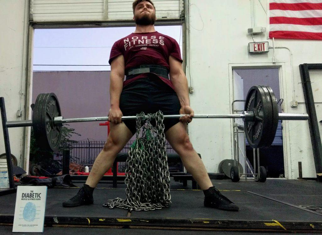 Brendan Beaulieu Diabetic Powerlifter