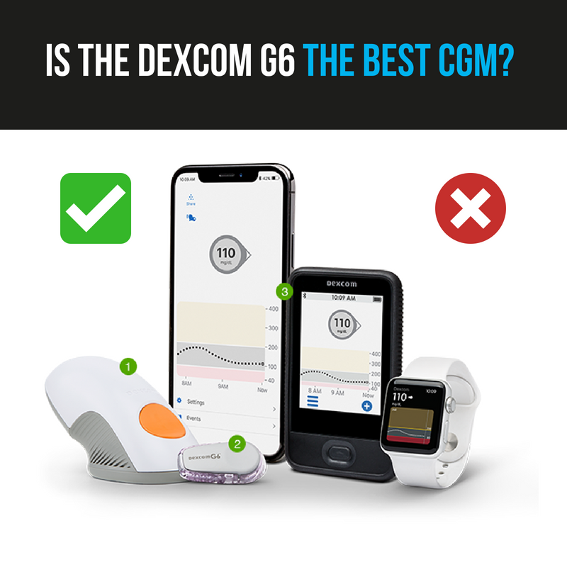 Is the Dexcom G6 The Best CGM for Diabetes? | Diabetic Muscle & Fitness